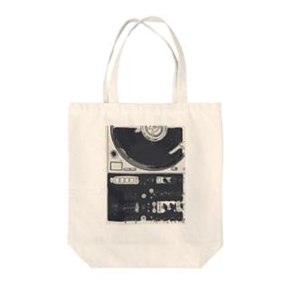 ターンテーブリスト Tote bags