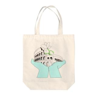 コロッセオ Tote bags