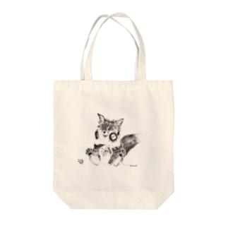 fox Tote bags