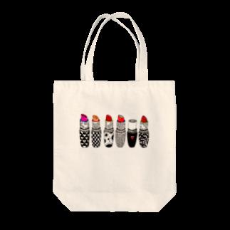 majoccoのkiss me Tote bags