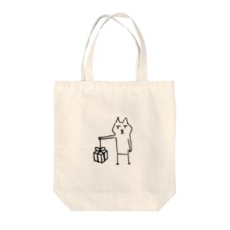 クマ@knowledgea_c Tote bags