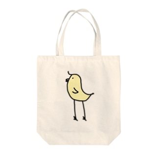 スタイリッシュひよこ Tote bags