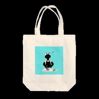 yukiNEM の猫とアイス Tote bags