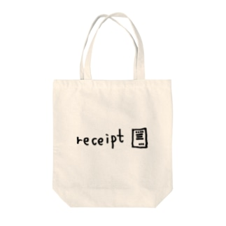 receipt Tote bags