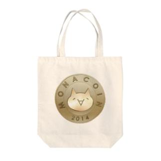 Monacoin(モナコイン) Tote bags