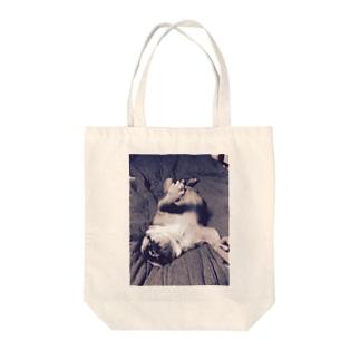 うちのパー子ちゃん Tote bags