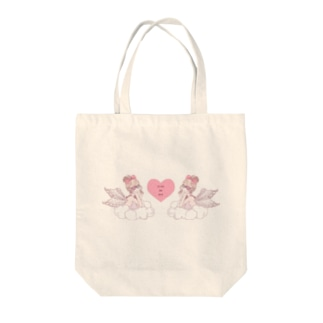 天使シリーズ① Tote bags