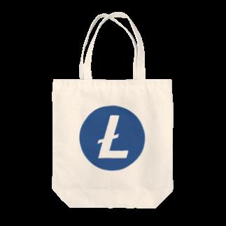 OWLCOIN ショップのLitecoin ライトコイン Tote bags