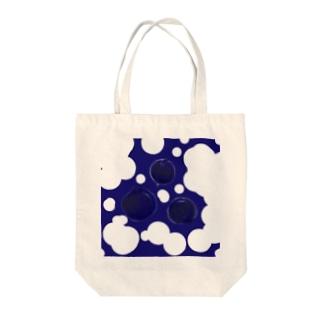 ブルーベリー Tote bags