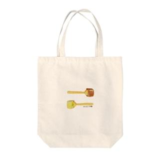 ホットチョコレート Tote bags