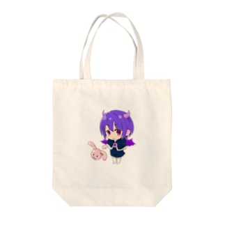 悪魔少女 Tote bags