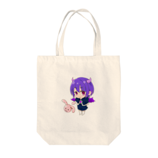 Not for youの悪魔少女 Tote bags