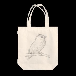 Lily bird(о´∀`о)の水浴び文鳥 Tote bags