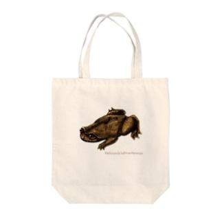 Barbourula kalimantanensis Tote bags