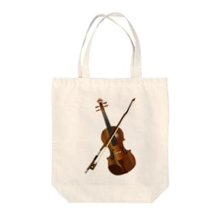 ヴァイオリン  Tote bags