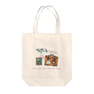 クマたちの世界一周旅行 Tote bags