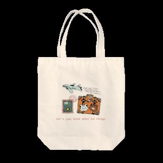 aaのクマたちの世界一周旅行 Tote bags