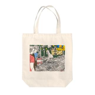グミ売り屋台 Tote bags