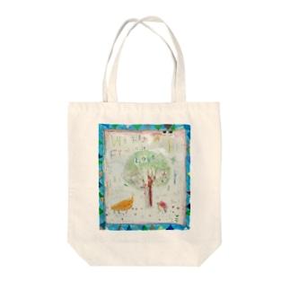 ムラナギ/ナヴィと月ノ子 Tote bags