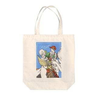 シテの小鳥売り Tote bags