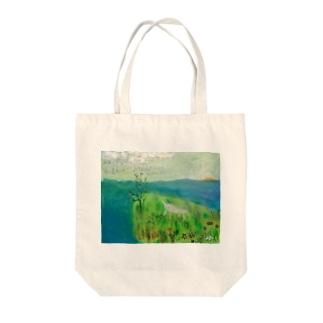 ムラナギ/海が見える日 Tote bags