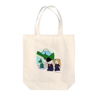 湘南ニャンキー Tote bags