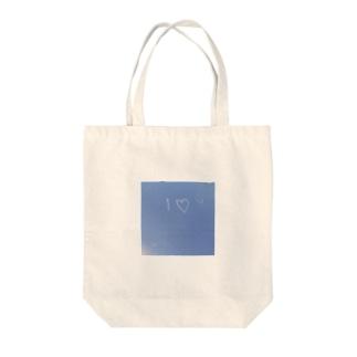 I♡YOU Tote bags