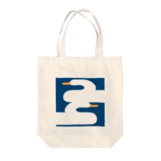 あひる Tote bags