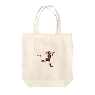 脱兎 Tote bags