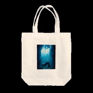 YOBULLCOのスキューバダイビング Tote bags