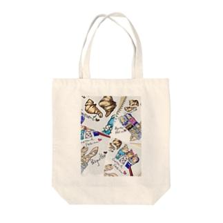 ファッションブレッド Tote bags