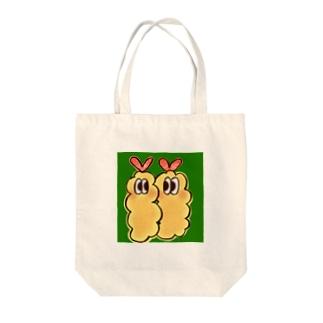 にじいろ☆うしゃぎのOSOZAI!!-オソーザイ!!-(エビフライ) Tote bags
