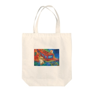 Don`t Stop Tote bags