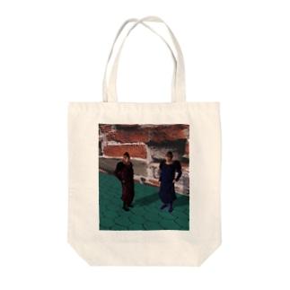 魔法学園 Tote bags