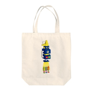 SUPER RECOVERY ROBOTS Tote bags