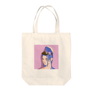 Not for youのIn my head Tote bags