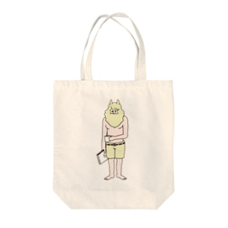 HELLO!ルーカス Tote bags