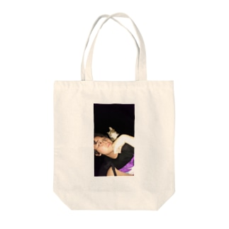Sexy Cat Boy Tote bags