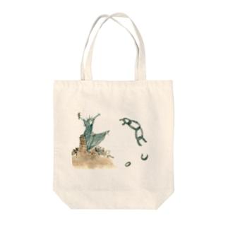 自由!! Tote bags