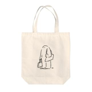 堂々と歩きたい Tote bags