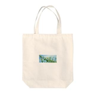 ヒメジオン Tote bags