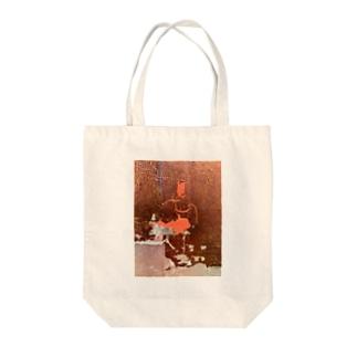 色箔と銀箔 Tote bags