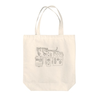 トキメキ☆エフェクターボード(淡色) Tote bags