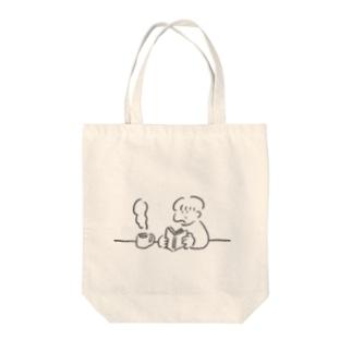 のんびり Tote bags