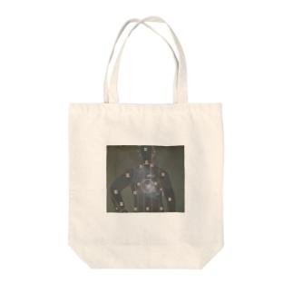 射撃 Tote bags