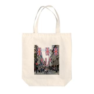 ジェルマインストリート ロンドン Tote bags