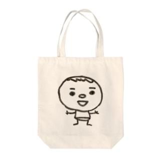 僕の名前はかきまん Tote bags
