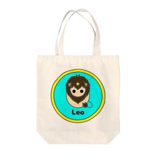 しし座 Tote bags