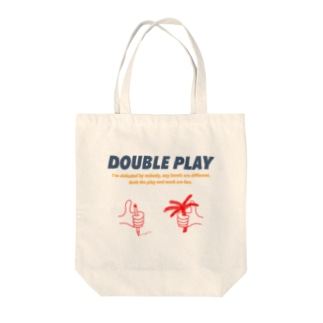 work × play color Tote bags