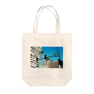 ハワイ Tote bags